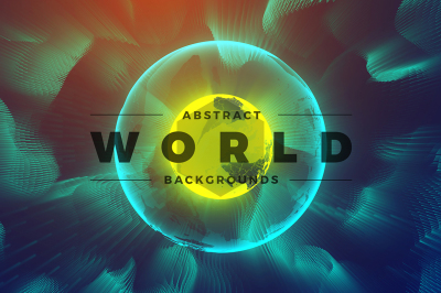 Abstract World & Particles Backgrounds