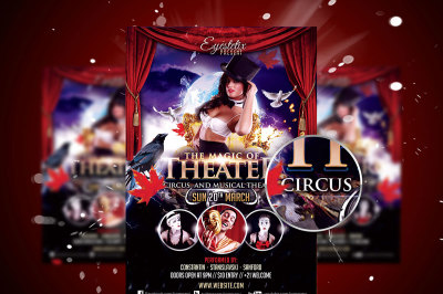 The Magic Of Theater Flyer