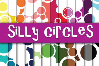 Silly Circles Digital Paper