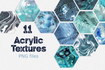 11 Acrylic Textures