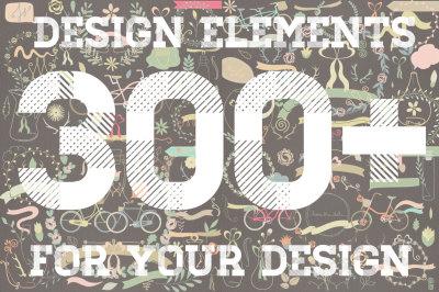 300+ Design Elements