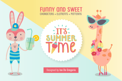 It's Summer time! Sweet animals