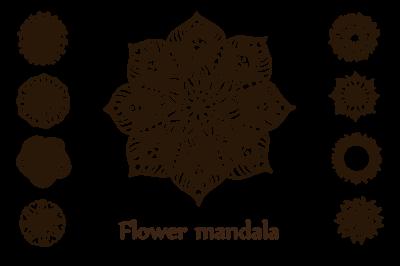 Flower mandala collection