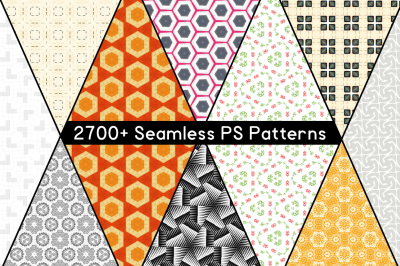 2700+ Seamless PS Patterns