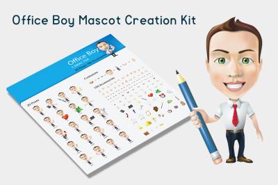 Office Boy Mascot Creation Kit