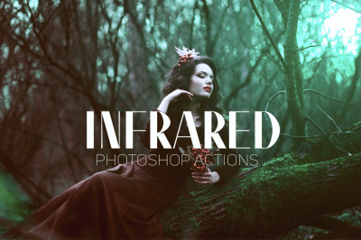 12 Infrared IR Photoshop Actions
