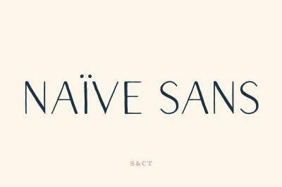 Naive Sans Font Pack