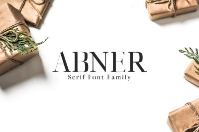 Abner Serif 6 Font Family
