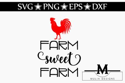 Farm Sweet Farm SVG