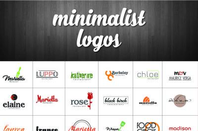 30 Minimalist logo