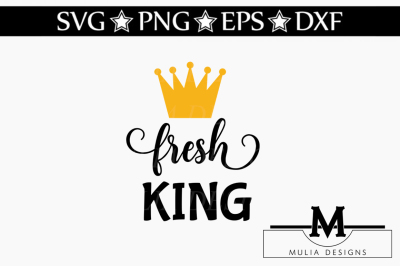 Fresh King SVG