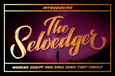 The Selvedger Font Family