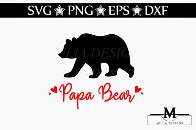 Papa Bear SVG