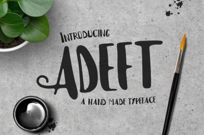 Adeft Typeface