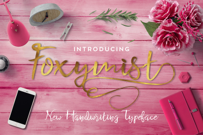 Foxymist Typeface