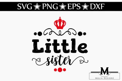 Lilttle Sister SVG