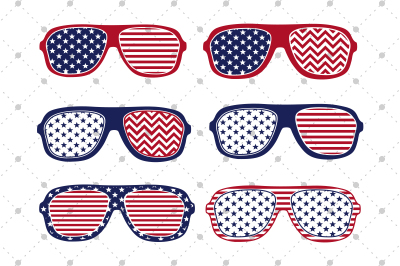 4th of July Glasses Files