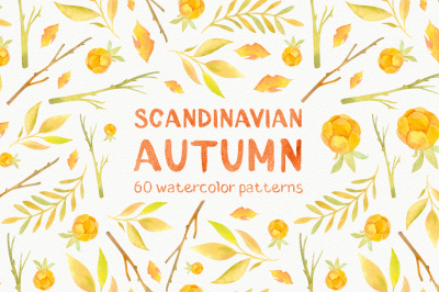 """Scandinavian Fall"" pattern collection"