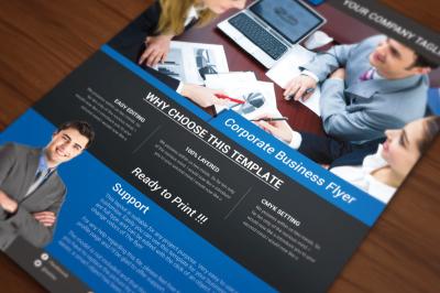 Corporate Business Flyer- 3 option color