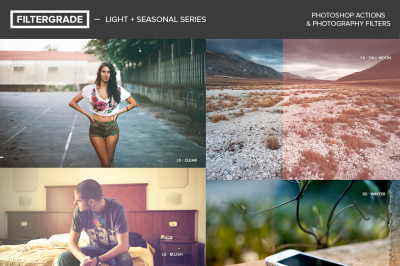 Light & Seasonal Series Photoshop Actions