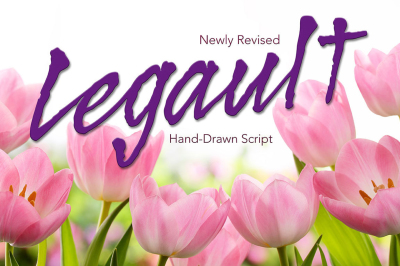 Legault Regular Hand-Drawn Font