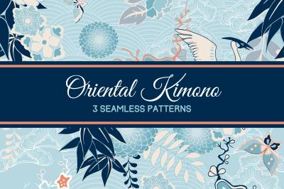 Oriental Kimono Patterns