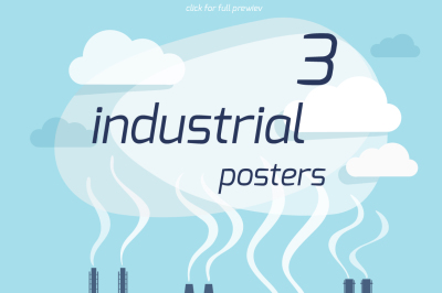 Industrial posters