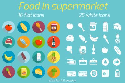 Supermarket food