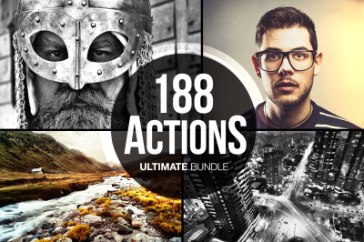 188 Actions Ultimate Bundle