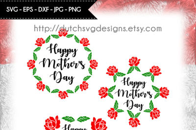 Cutting file Happy Mother's Day, in Jpg Png SVG EPS, for Cricut & Silhouette, mothers day svg, mother's day svg, mom svg, printable