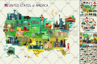USA Travel Collection