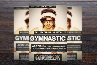 Gymnastic Sports Flyer