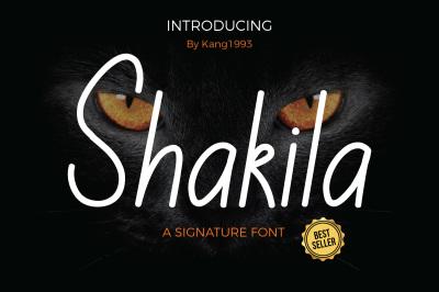 Shakila Font ~ PROMO!