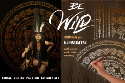 Be Wild! Brushes for Illustrator