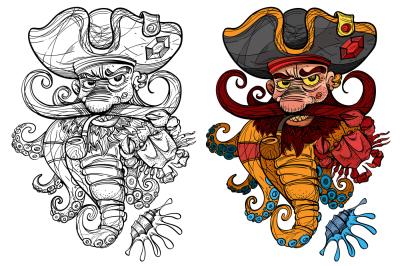 Marine Captain Tattoo