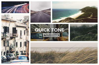 QuickTone Photoshop Actions