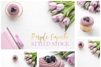 Purple styled stock bundle