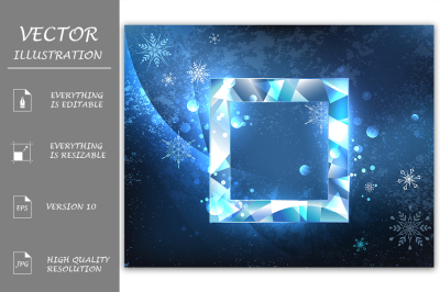 Square Ice Banner