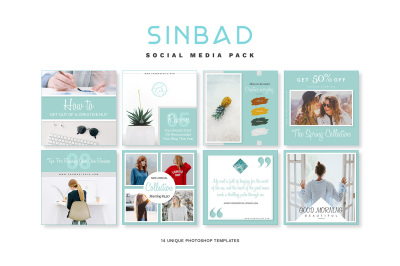 SINBAD Social Media Pack