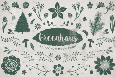 Greenhaus Floral Vector Pack Volume 1