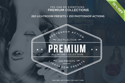 510 Premium Photoshop and Lightroom Effects