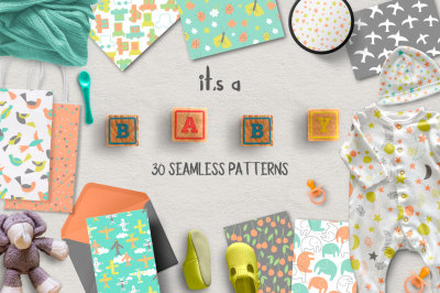 it's a BABY Seamless Patterns