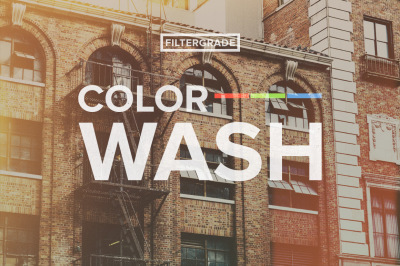 ColorWash Faded Photoshop Actions