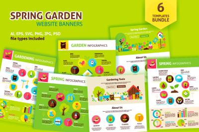 Spring Garden Infographic