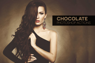 Chocolate Photoshop Actions