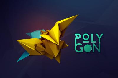 3D Geometric Polygon Renders