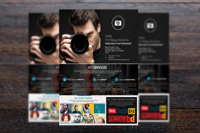Freelance Photographer Flyer Template