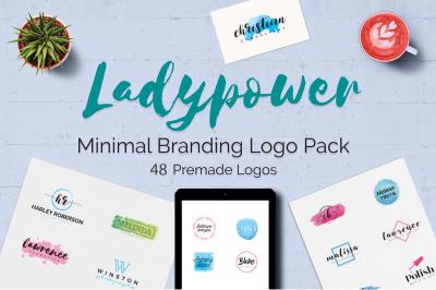 LADYPOWER Feminine Branding Logo Pack
