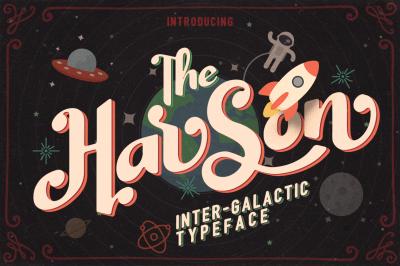 Harson Inter-Galactic Typeface