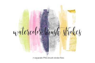 Brush Strokes Clipart - shine bright